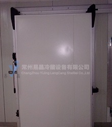 Nylon accessories sliding door