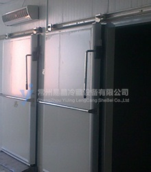 Light rail sliding door