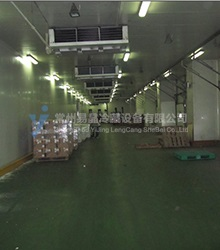 Cold storage logistics