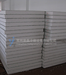 Polystyrene cold plate